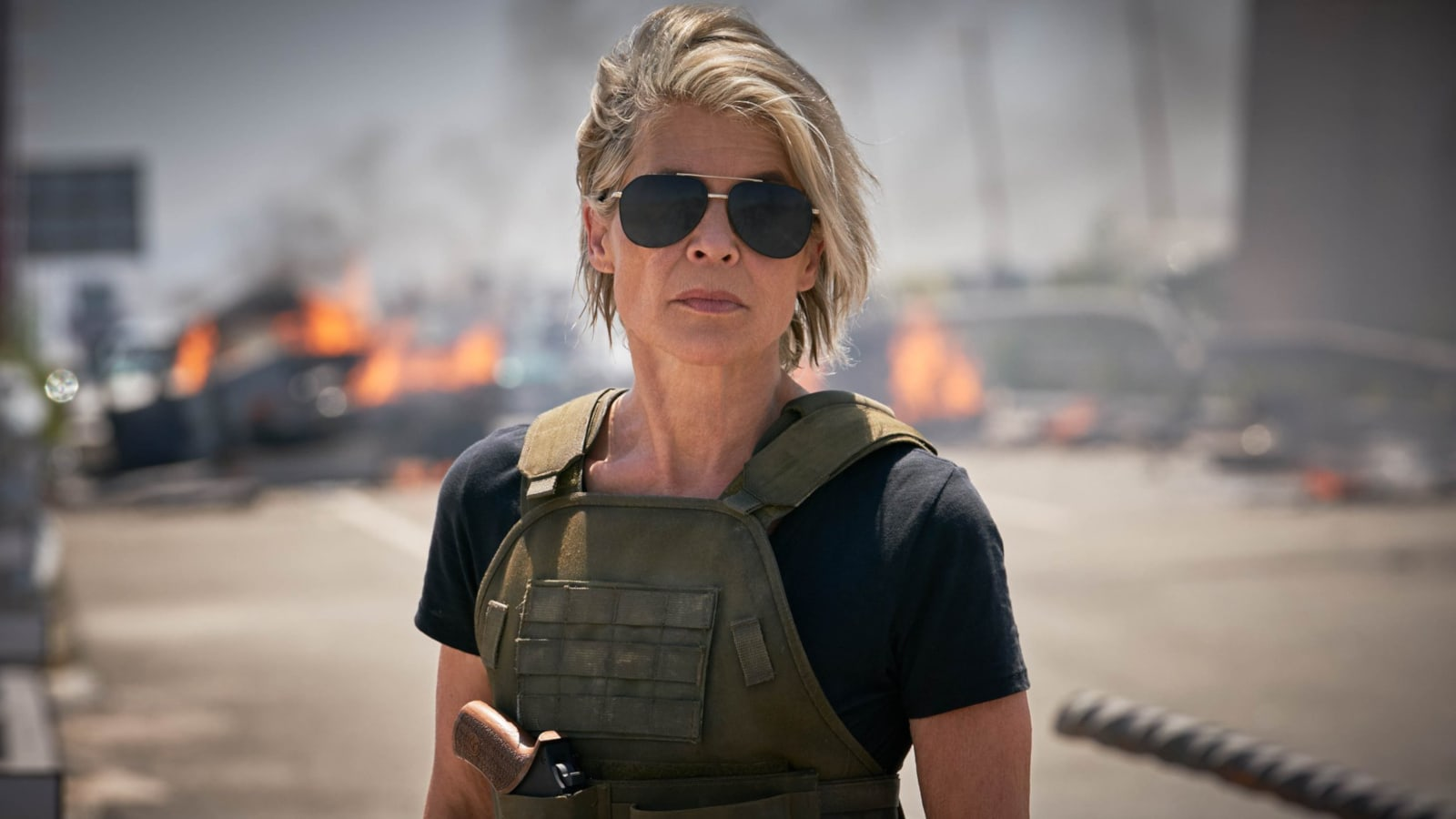 Watch a behind-the-scenes look at 'Terminator: Dark Fate'