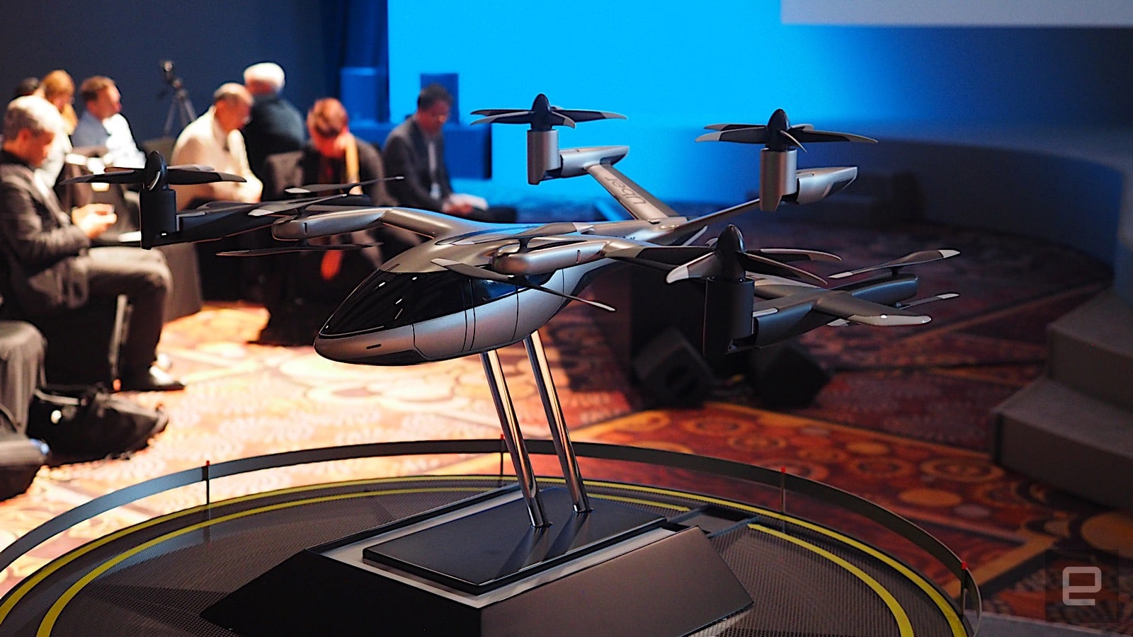 Hyundai and Uber show off their flying taxi concept