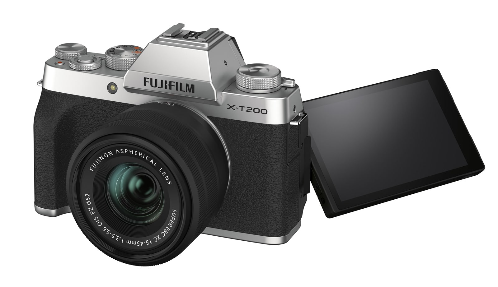 Fujifilm's X-T200 mirrorless camera uses gyros for ultra-stable video