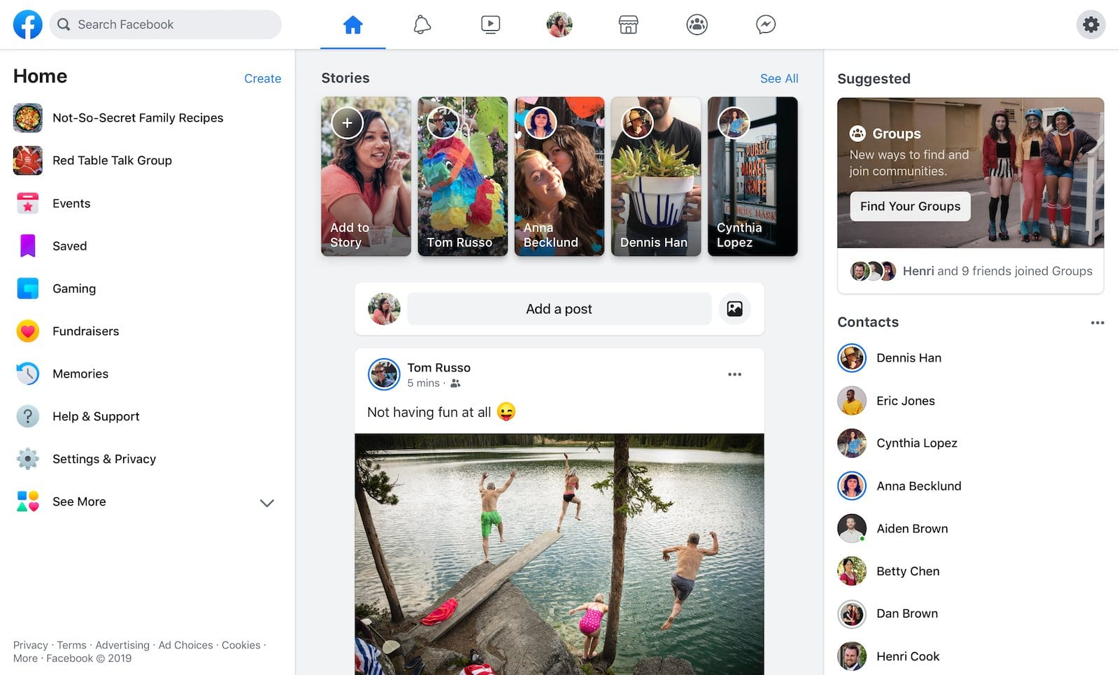 'The New Facebook' design begins rolling out