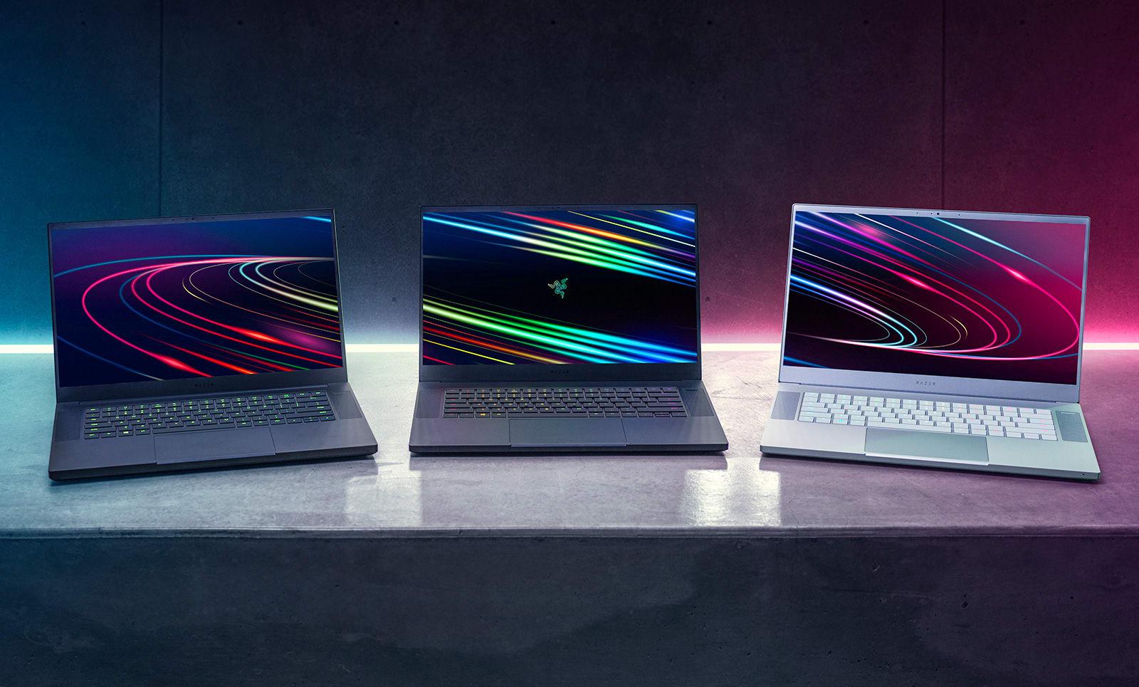 Razer Blade 15 Studio laptops