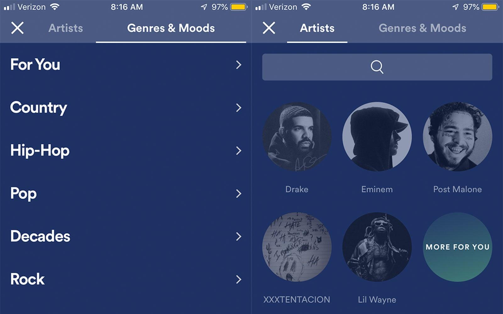 Spotify Stations