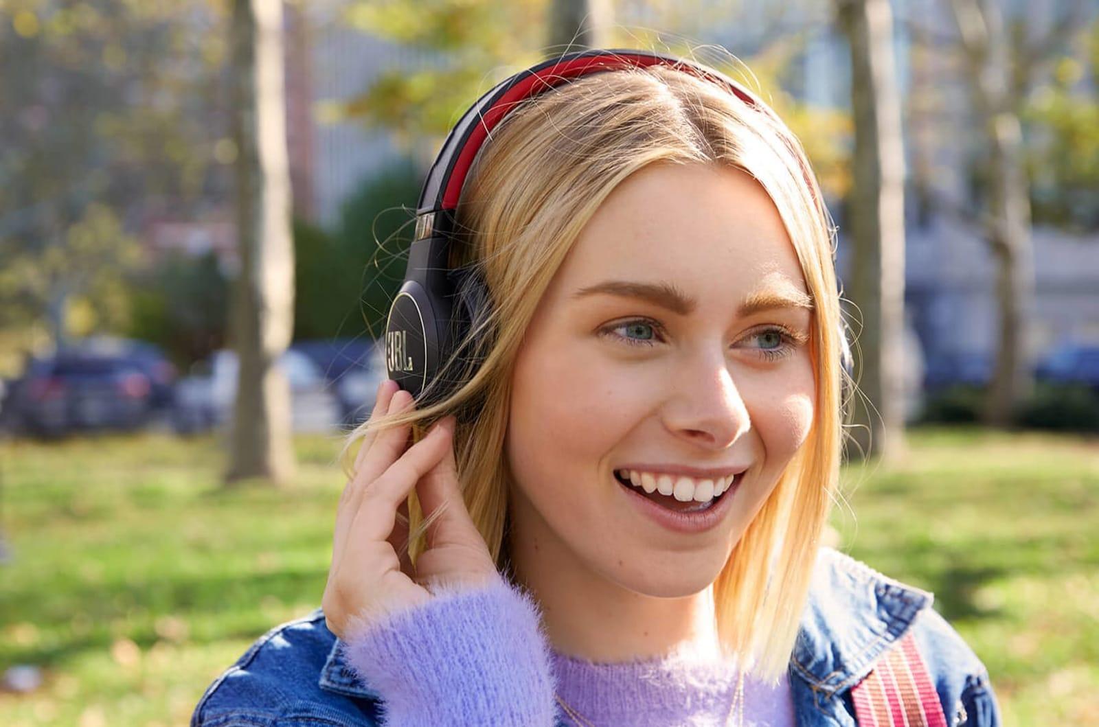 JBL says its solar powered headphones deliver 'unlimited