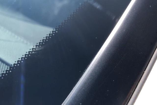 Black dots on windscreen