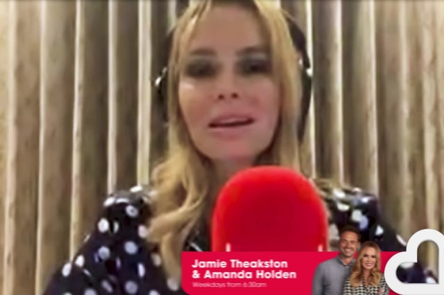 Amanda Holden interrupted by pet dog during radio show broadcast from home