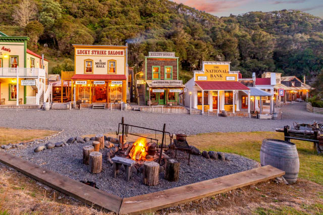 Entire Wild West Town For Sale - In Rural New Zealand