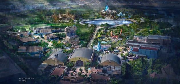 Disneyland Paris dévoile ses trois nouveaux