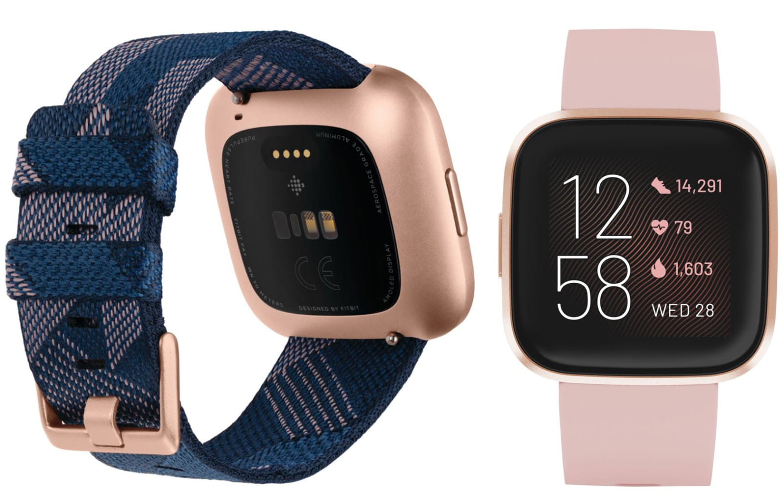 Fitbit smartwatch with Alexa and OLED