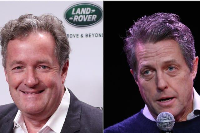 Piers Morgan taunts Hugh Grant and Steve Coogan over General Election exit poll