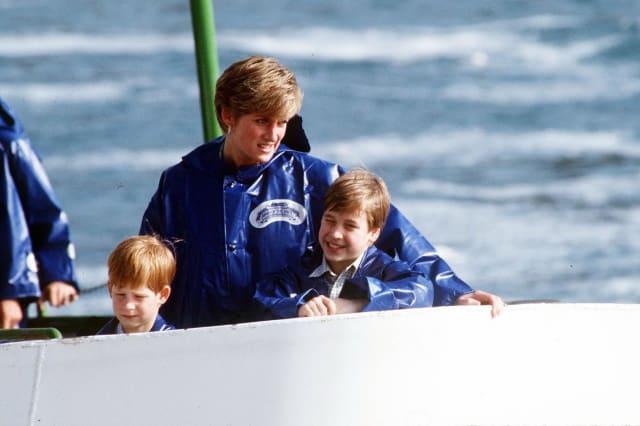 Royalty - Prince and Princess of Wales Canada Visit - Niagara Falls