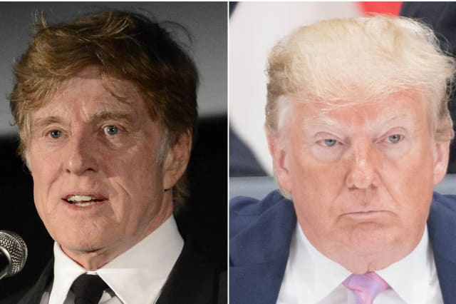 Robert Redford accuses Donald Trump of 'dictator-like' attack on US