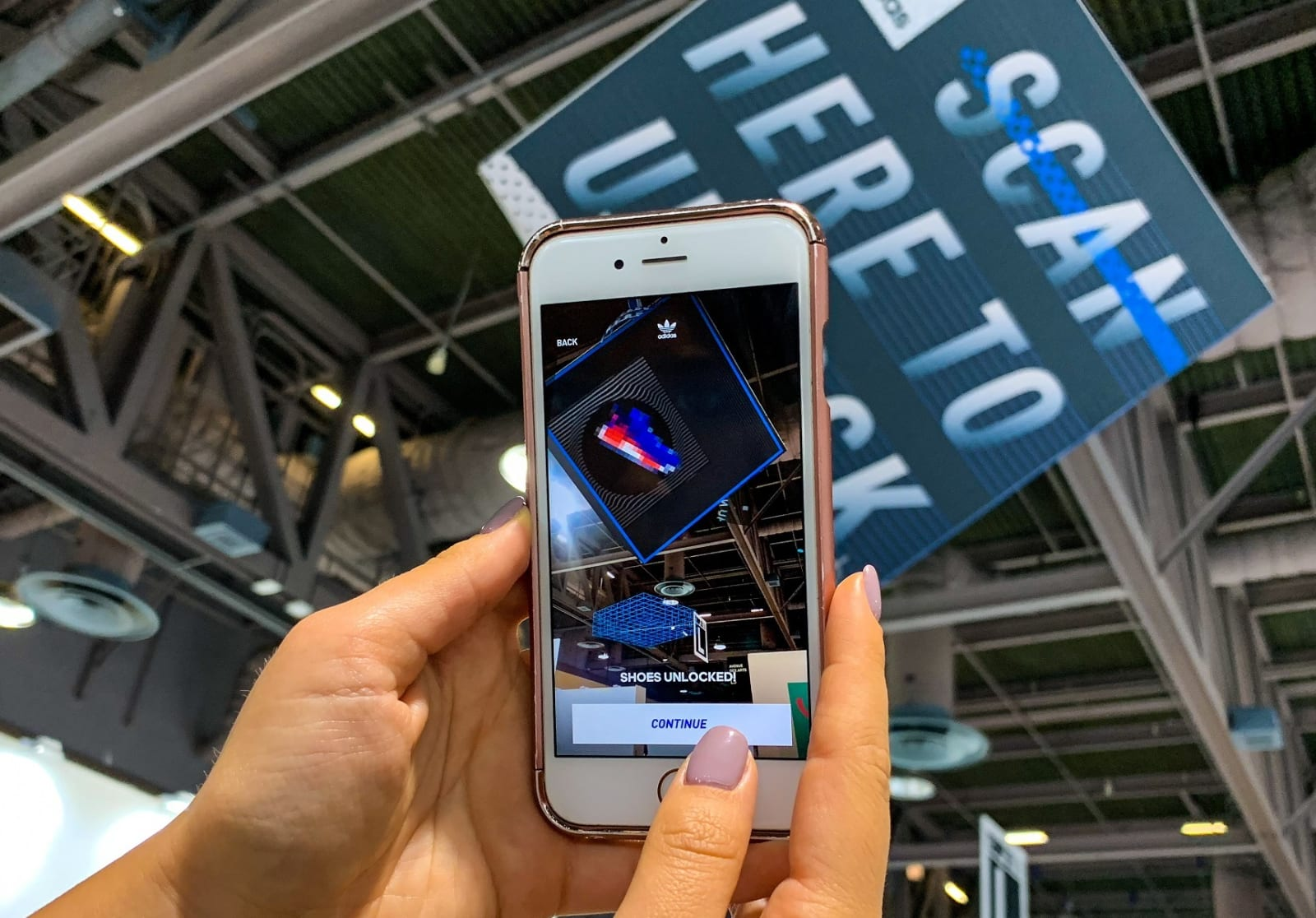 6b093d24fa73f Adidas is using augmented reality to sell limited-edition sneakers