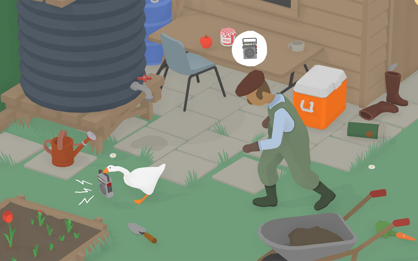 'Untitled Goose Game' arrives today on Mac, PC and Switch