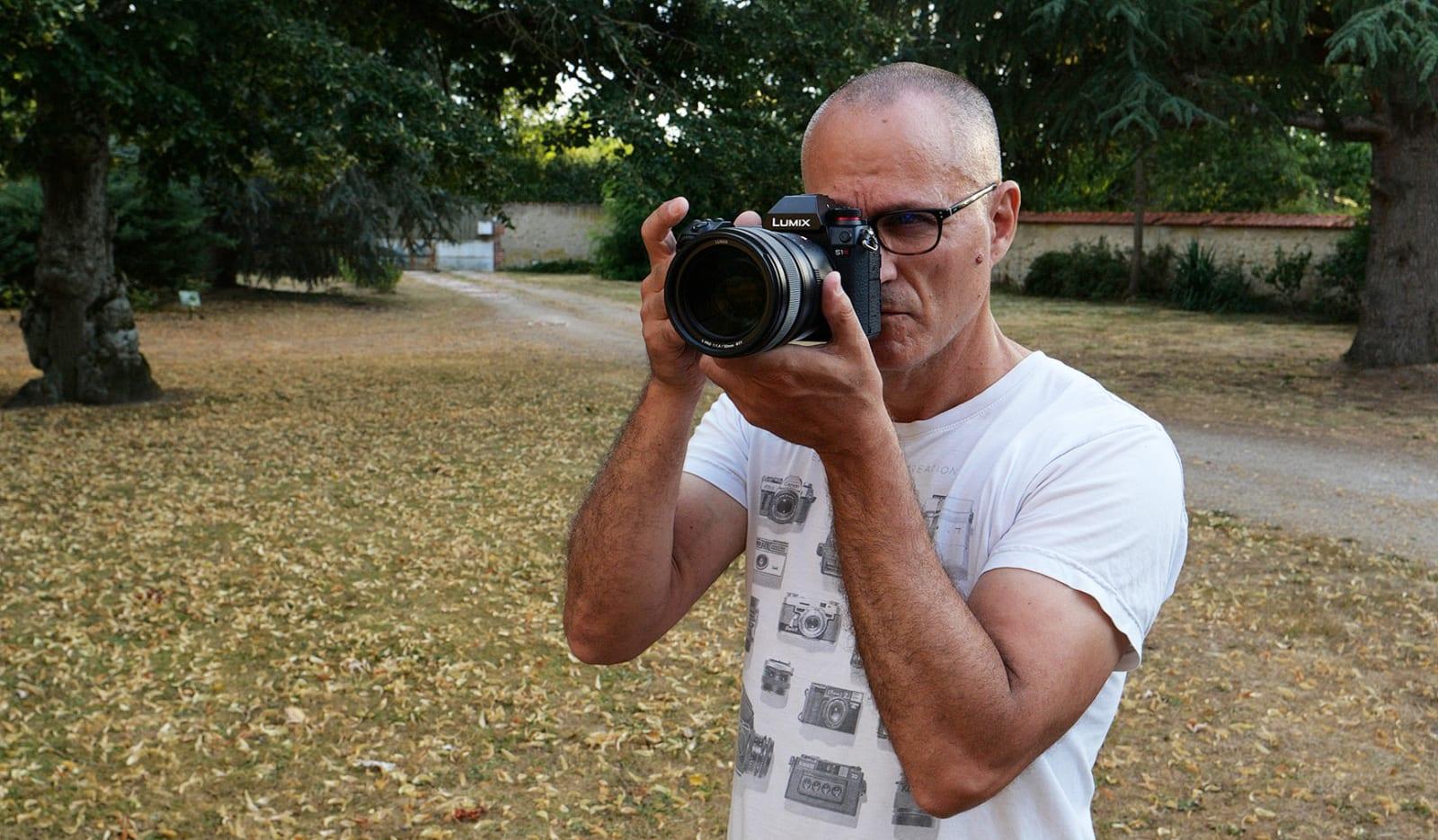 Panasonic S1R full-frame mirrorless camera