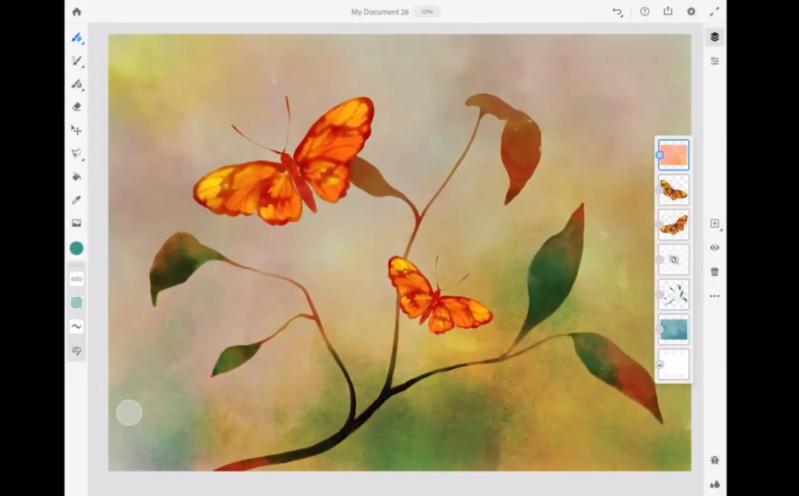 Adobe's upcoming iPad painting app is called Adobe Fresco