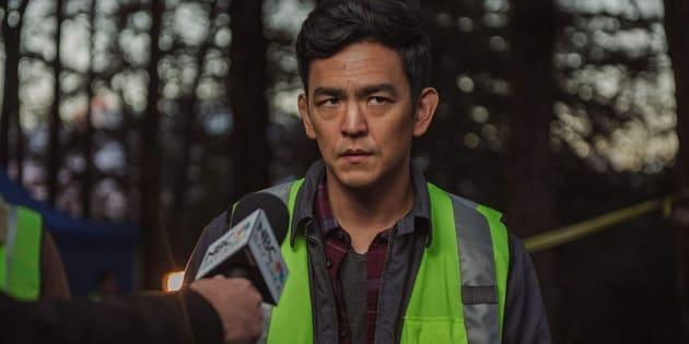 主人公のデイビッドを演じるジョン チョー