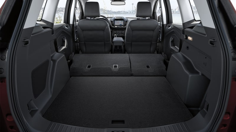 2018 Ford Escape interior cargo area