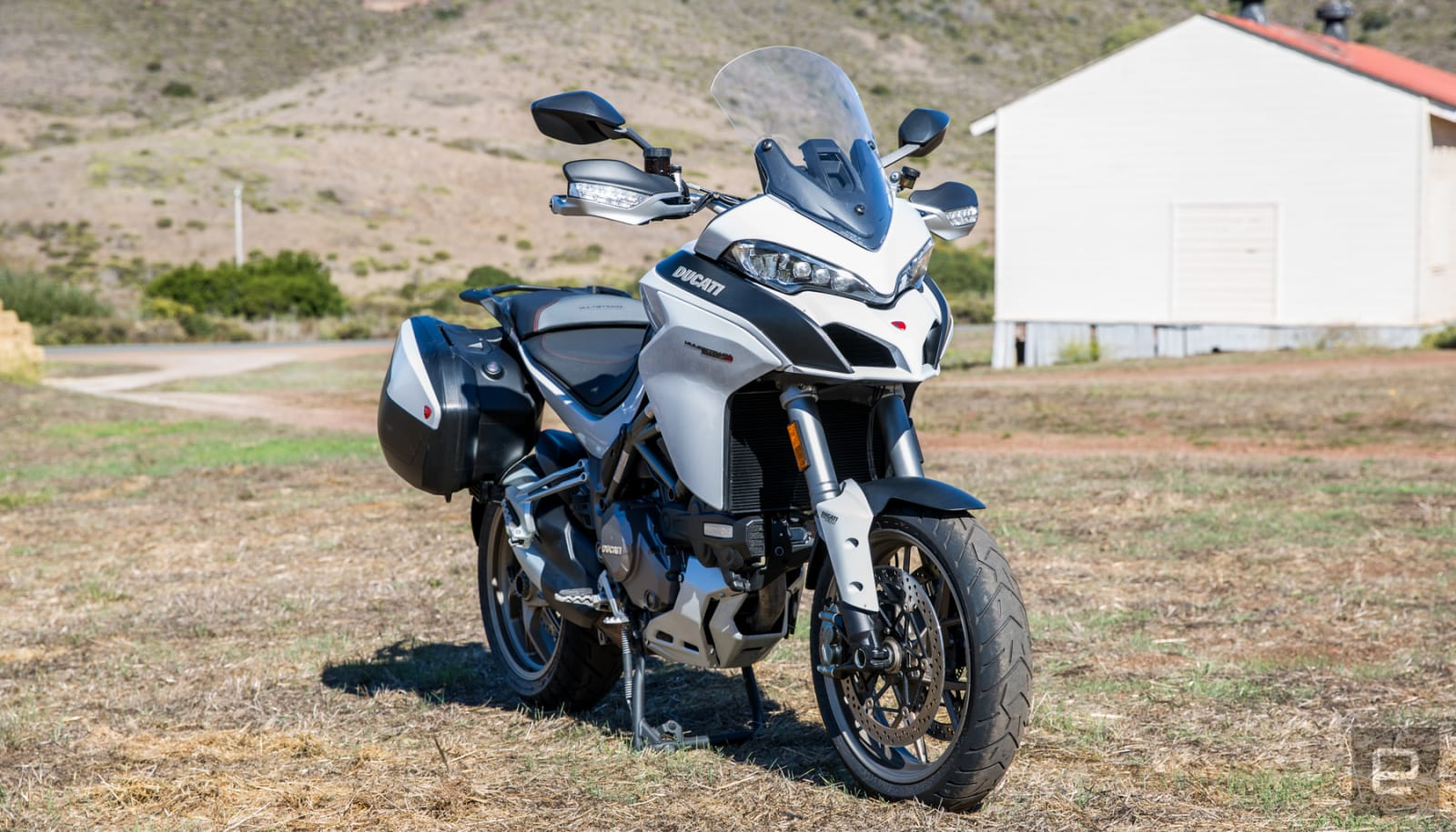 The Ducati Multistrada 1260S is ready for anything