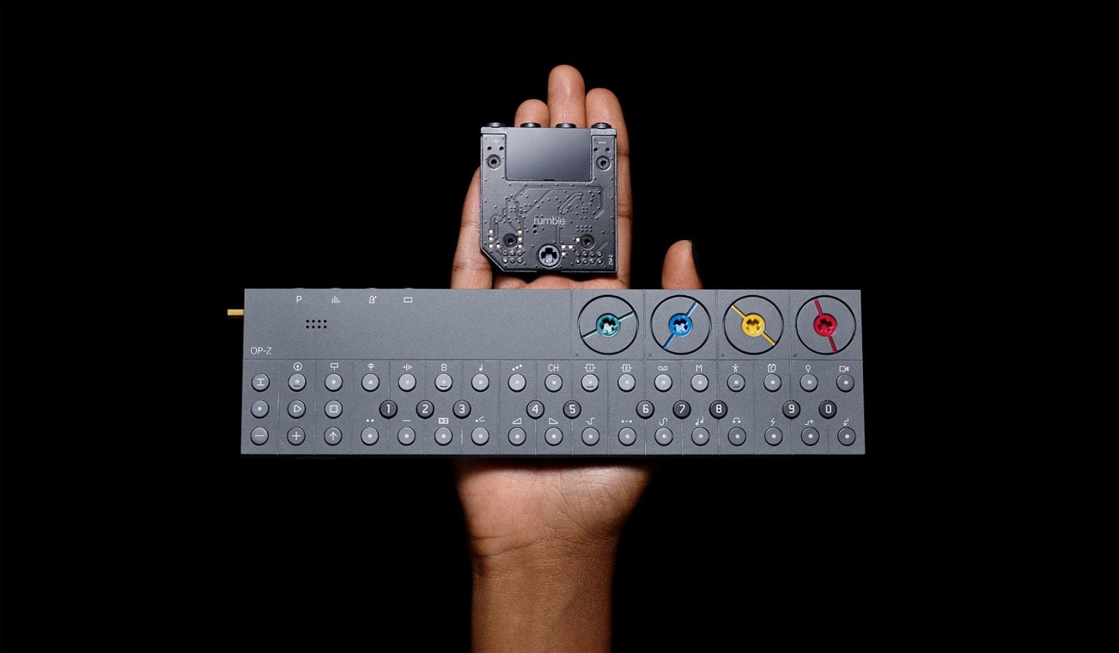 Teenage Engineering's 'rumble' module puts haptic bass in the OP-Z