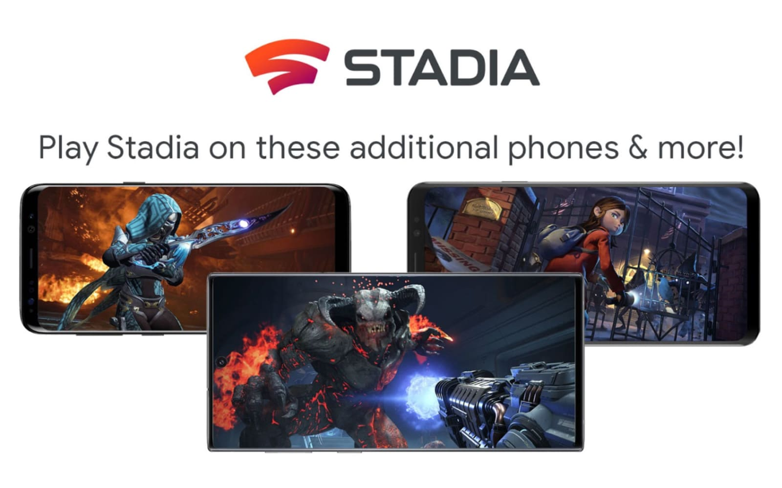 Google is bringing Stadia to 18 new phones, including the Galaxy S20