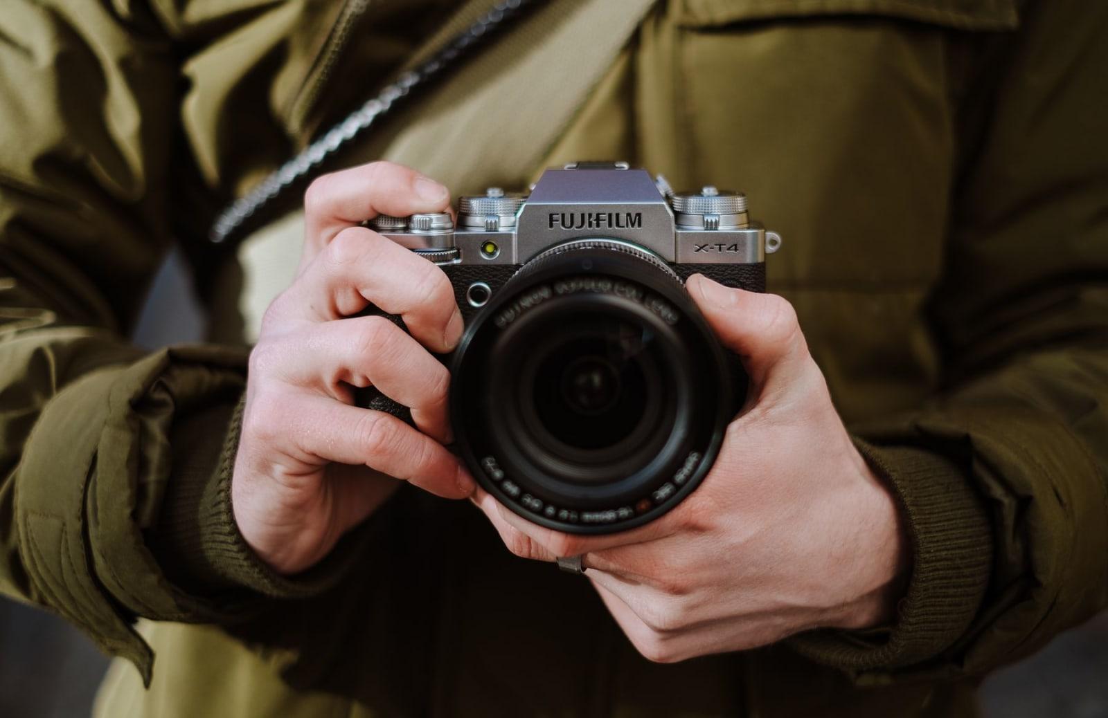 Fujfilm X-T4 APS-C mirrorless camera