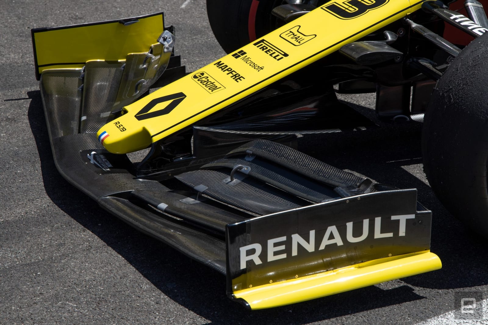 Renault Formula 1 insane tech