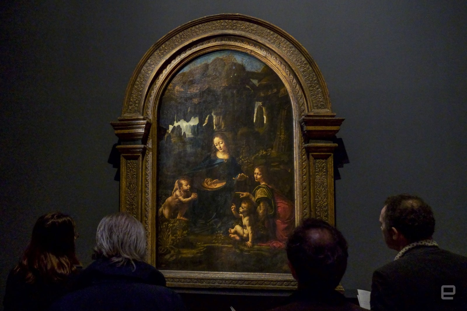 The Virgin of the Rocks Louvre Leonardo da Vinci