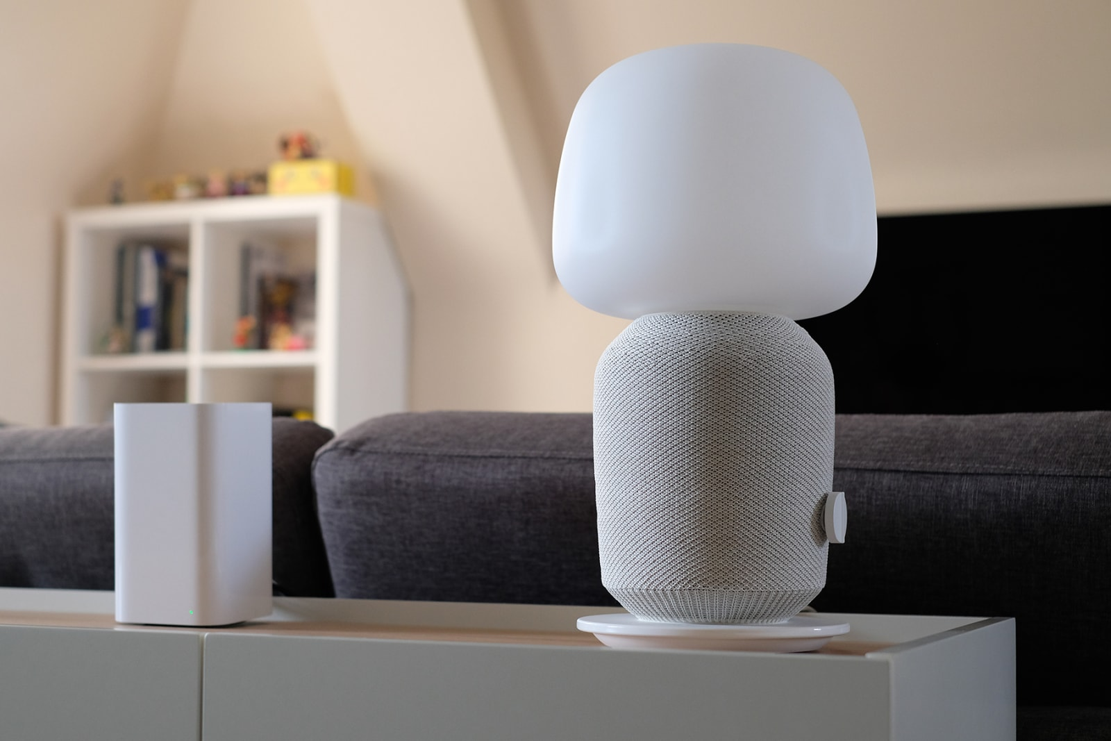 Nintendo Switch Sonos and IKEA Symfonisk lamp