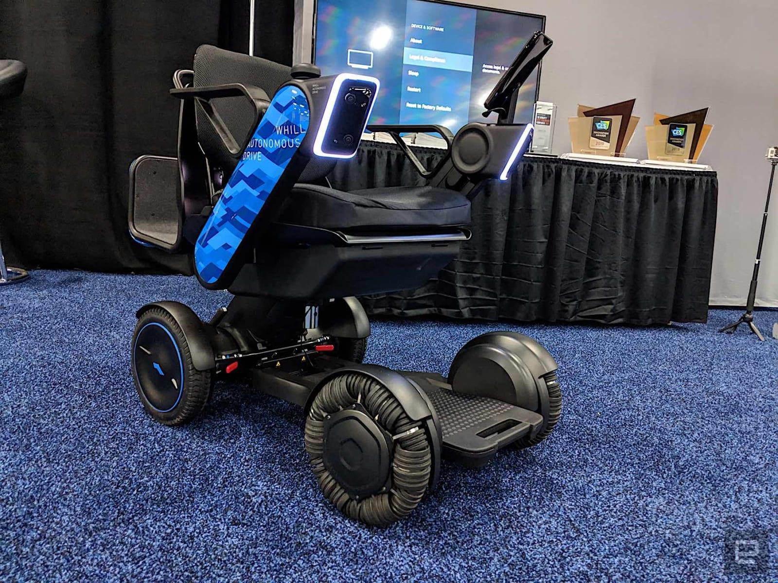 Whill Autonomous Drive System