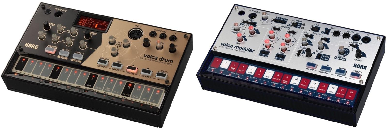 korg introduces volca modular and volca drum synths. Black Bedroom Furniture Sets. Home Design Ideas