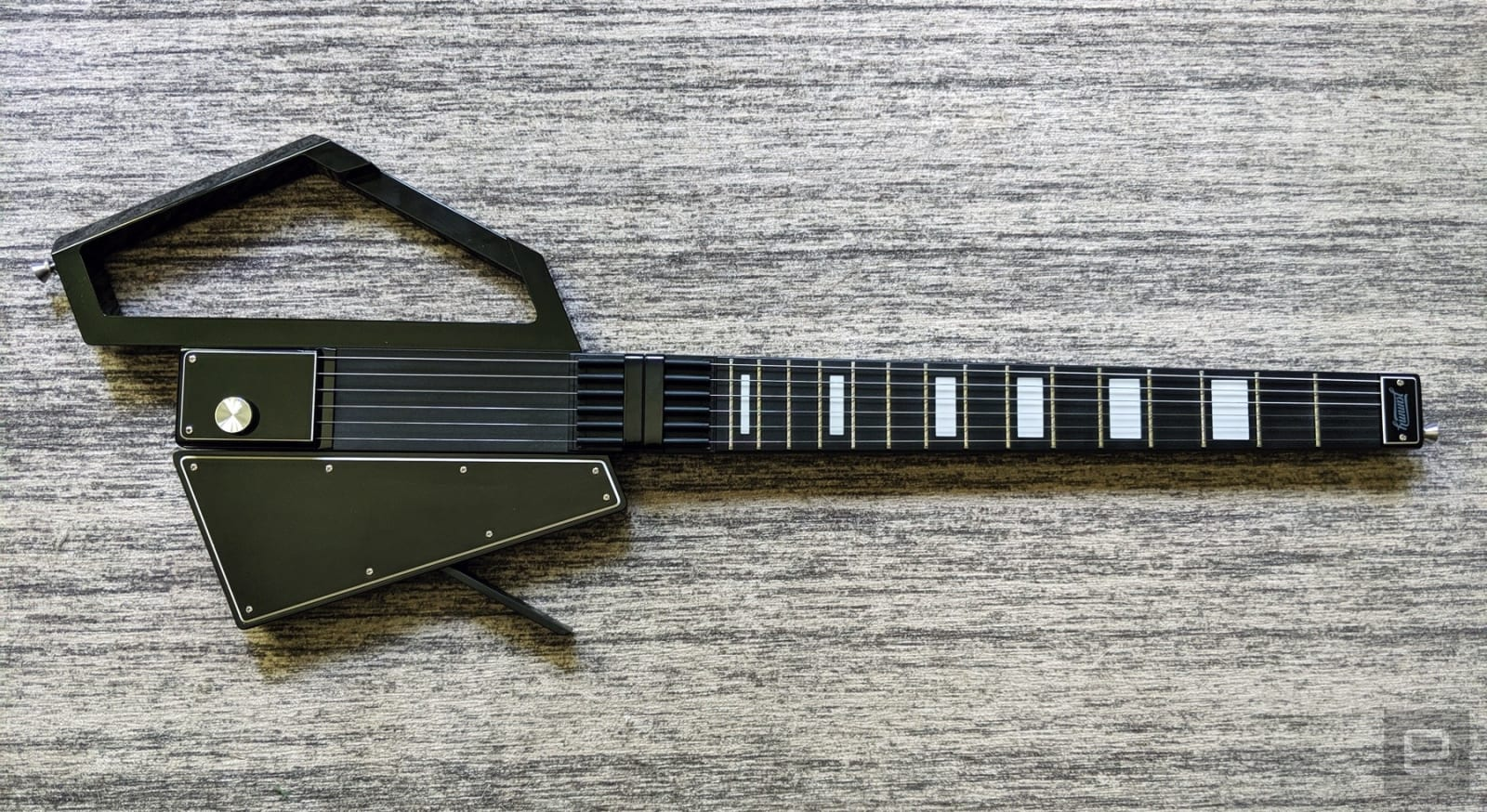 Jammy's digital guitar is a futuristic idea let down by