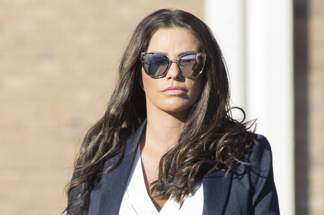 Katie Price fined after admitting 'tirade of abuse' in playground row