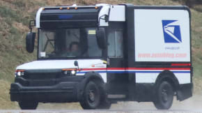 Mail truck spy shot