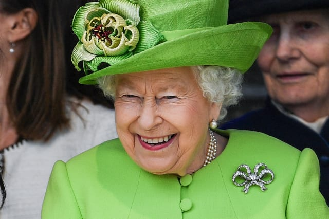 Meghan Markle and Queen Elizabeth in England