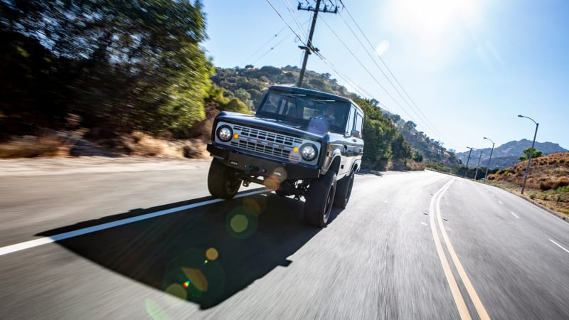 Icon BR Bronco road test review | Autoblog