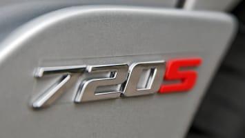 McLaren 720S badge