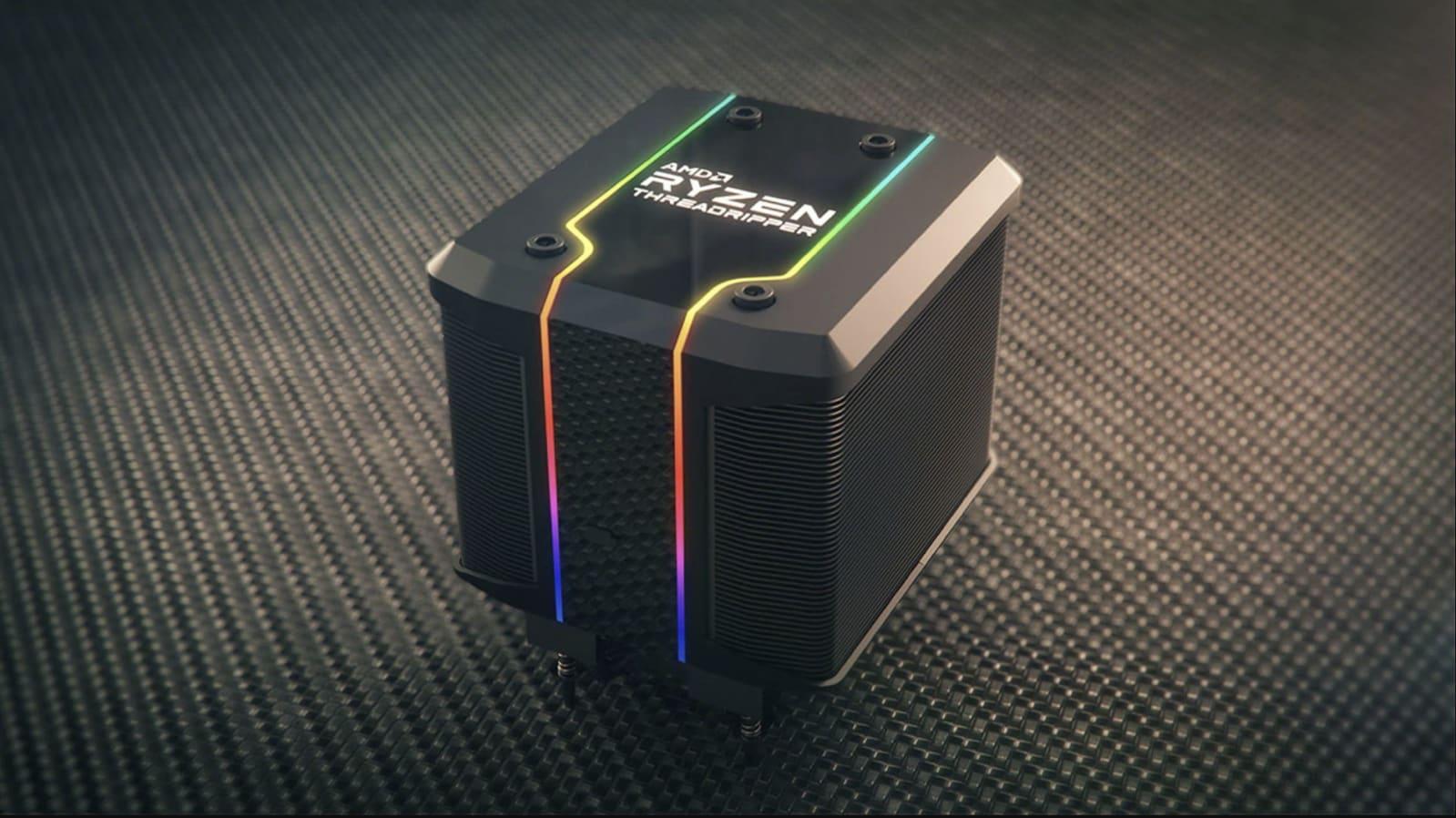 AMD Ryzen Threadripper 3990X 64-core CPU
