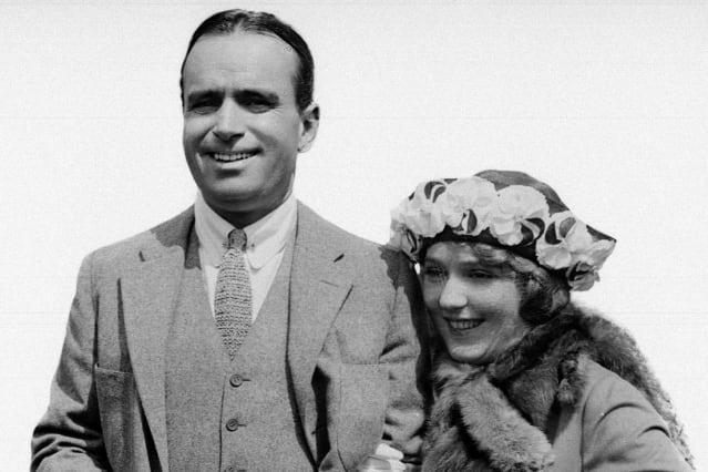 MARY PICKFORD AND MR DOUGLAS FAIRBANKS