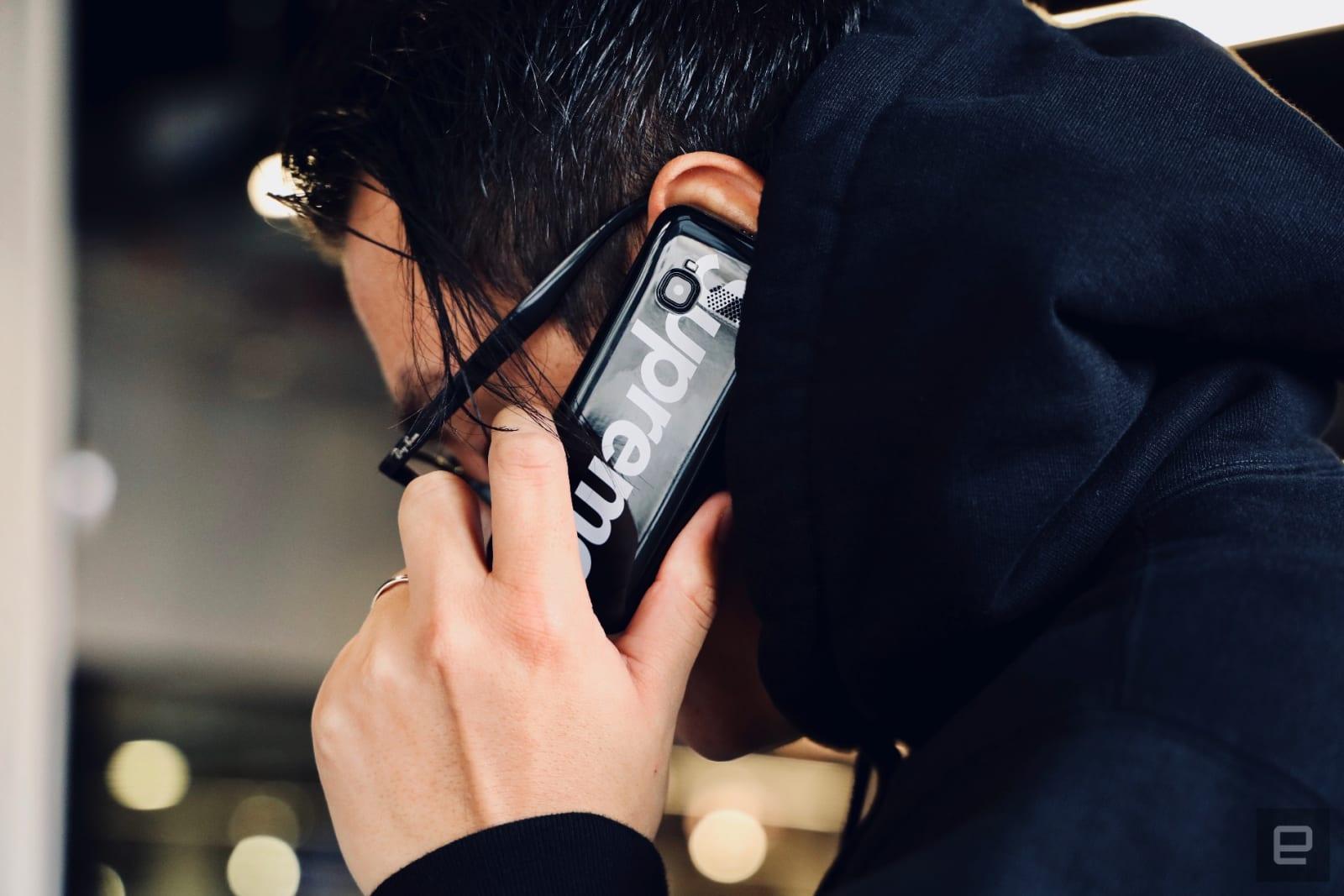 Supreme's burner phone is a hypebeast's dream