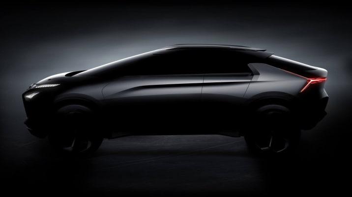 Mitsubishi e-Evolution concept profile