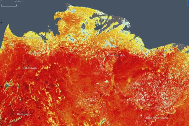 Siberian heatwave alarms climate scientists