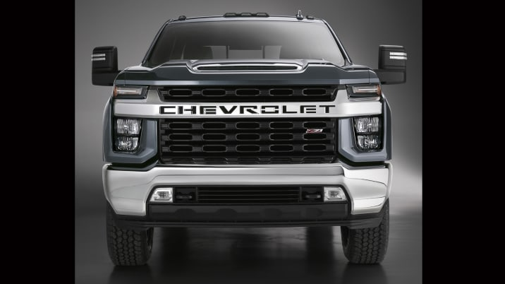 2020 Chevy Silverado HD breaks styling tradition | Autoblog