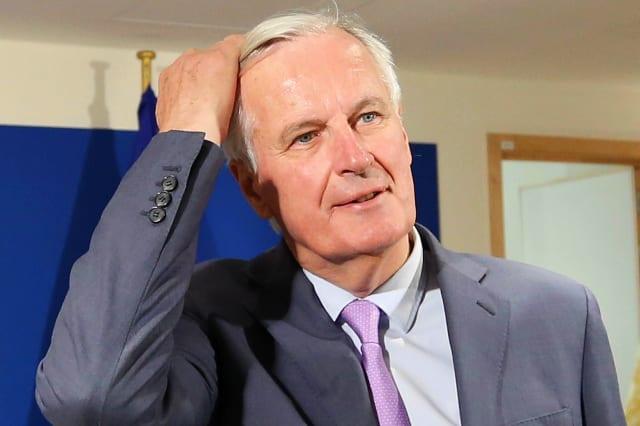 EP President Sassoli meets EU Brexit Chief Negotiator Barnier