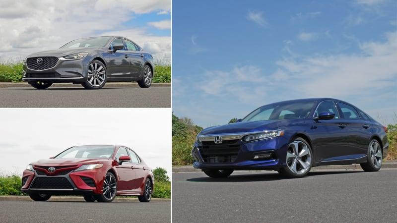 Mid-size sedan comparison