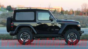 Jeep Wrangler spy shot