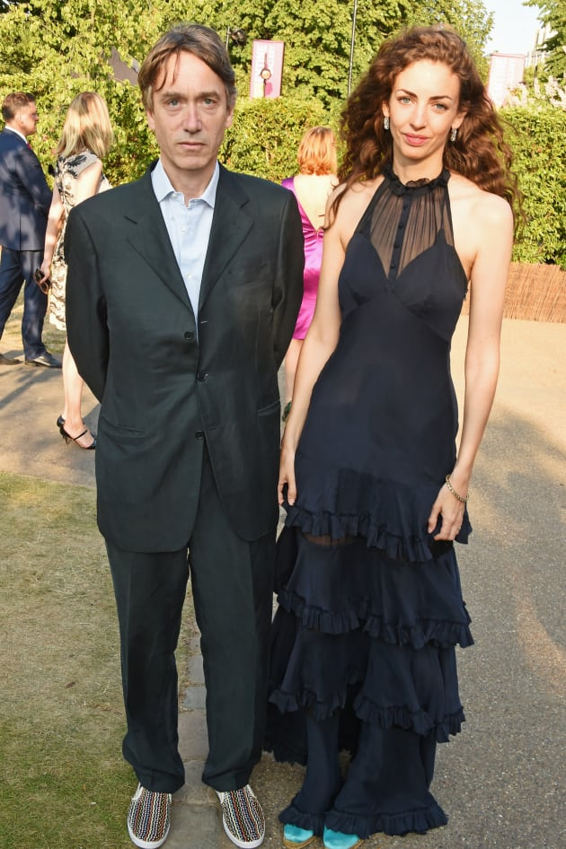 David, Marquess of Cholmondeley, and his wife Rose attend The Serpentine Gallery summer party at The...