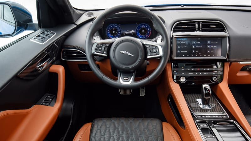 2019 Jaguar F Pace Svr First Drive Review What S New Specs