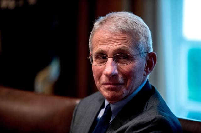 Dr. Anthony Fauci, CDC Director and FDA Chief All in Self-Isolation