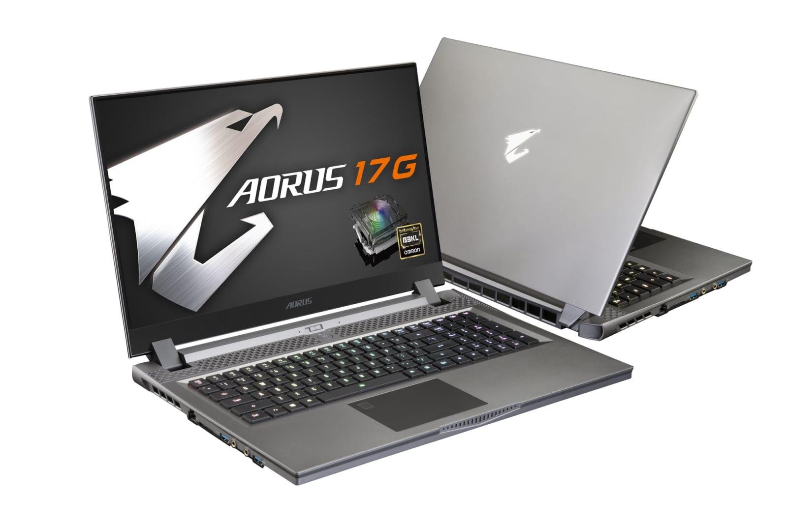 Gigabyte AORUS 17 laptops
