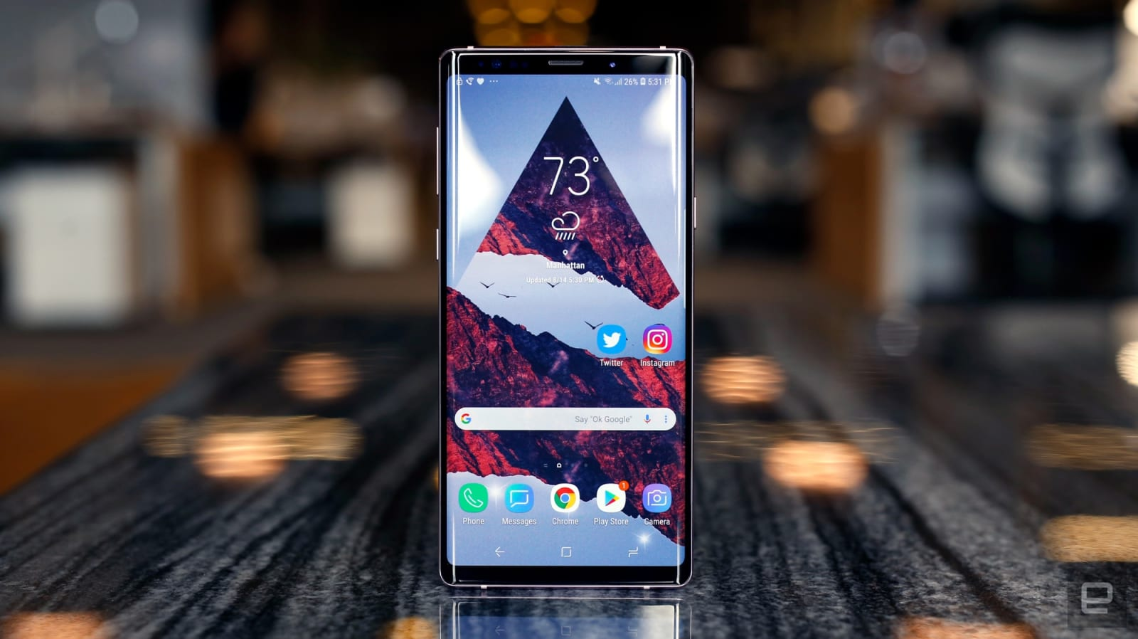 Samsung Galaxy Note 9 Review A Better For Most Of Us Led Cover Note9 Brown Research And Analysis By Our Expert Editorial Teams The Global Score Is Arrived At Only After Curating Hundreds Sometimes Thousands